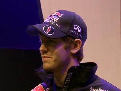 Кадр промо ролика о выпуске Sebastian Vettel Edition