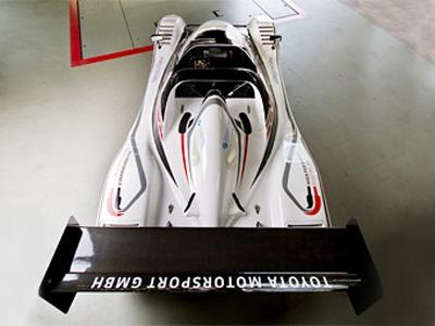 Электрокар Toyota на заезда на Нюрбургринге. Фото Toyota Motorsports GmbH