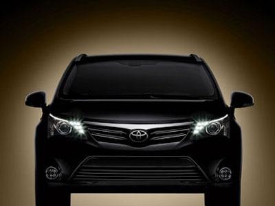 Toyota Avensis. Фото Toyota