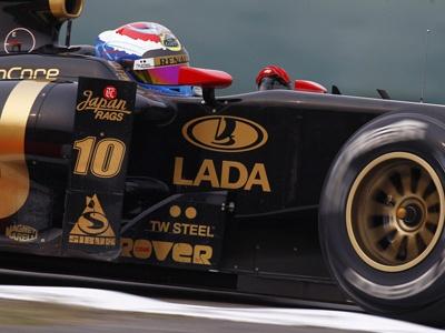 Фото Lotus Renault GP