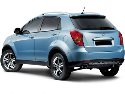 New Actyon. Фото SsangYong