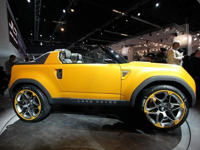 Прототип нового Land Rover Defender