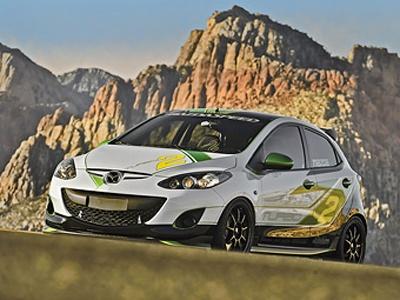 Mazda 2 Turbo. Фото Mazda