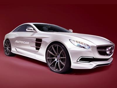 Суперкар Mercedes-Benz SLC AMG