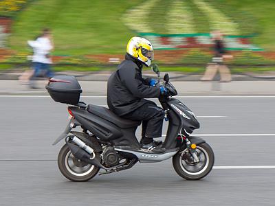 Скутер в Москве