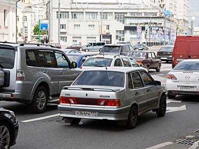 Транспортная ситуация вМоскве