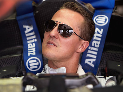 Михаэль Шумахер на Гран При Венгрии