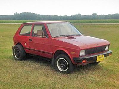 Yugo 1988 года выпуска с мотором от старого Oldsmobile Toronado