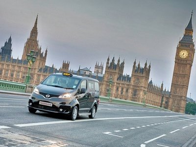 Nissan заменит лондонские кэбы компактвэном NV200
