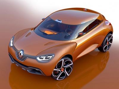 Captur демонстрирует новый язык дизайна Renault