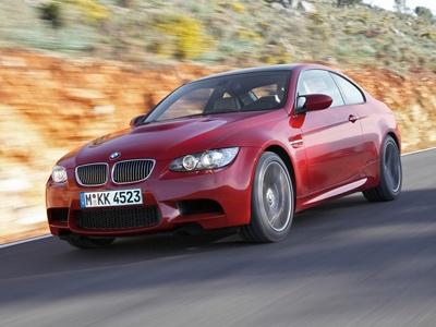 BMW M3 coupe. Мощность двигателя 420 л.с.