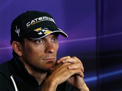 Виталий Петров на британском Гран При в Сильверстоуне