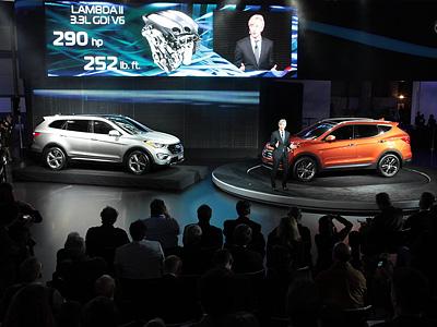 Новое поколение Hyundai Santa Fe