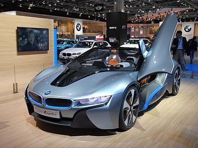 Концепт-кар BMW i8 Spyder
