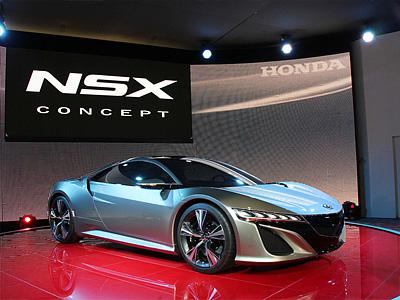 Концепт суперкара Honda ASX