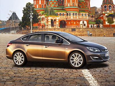 Седан Opel Astra нового поколения