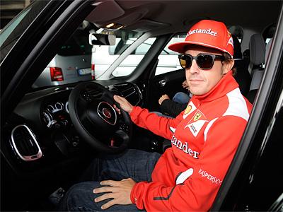 Фернандо Алонсо перед Гран При Бельгии