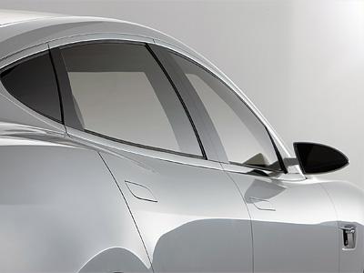 Фрагмент модели Tesla Model S