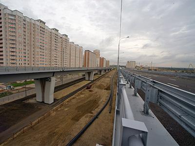 Реконструируемый участок Комсомольского проспекта
