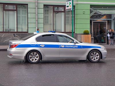 Автомобиль российской полиции