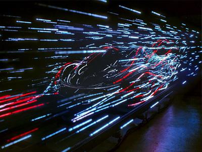 Силуэт будущего суперкара McLaren