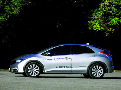 Honda Civic семейства Earth Dreams