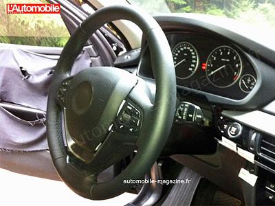 Шпионские снимки интерьера нового BMW X5