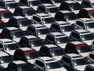 Склад новых автомобилей