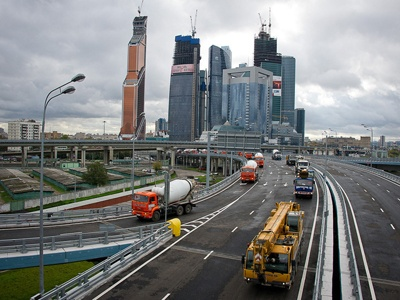 Магистраль от Звенигородского шоссе до «Москва-Сити» открыли для движения