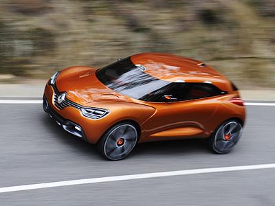 Концепт-кар Renault Captur