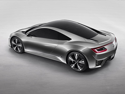 Концепт спорткара Acura NSX