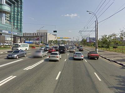 Реверсивное движение на Волгоградском проспекте