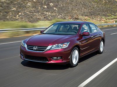 Обновленный Honda Accord