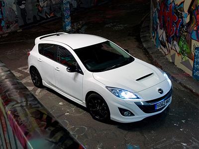 Рестайлинговая Mazda 3 MPS
