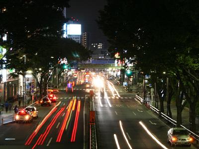 Дорожный трафик в Токио
