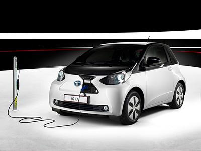 Электрокар Toyota IQ EV