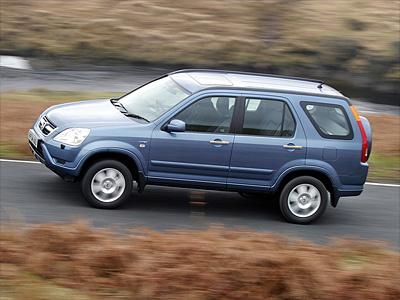 Второе поколение Honda CR-V