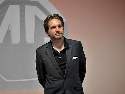 Новый шеф-дизайнер MG Мартин Уларик
