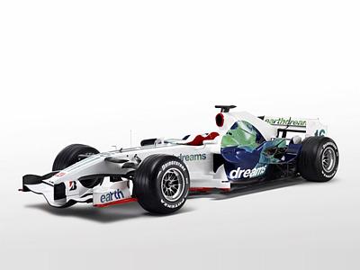 Болид RA108 команды Honda Racing F1