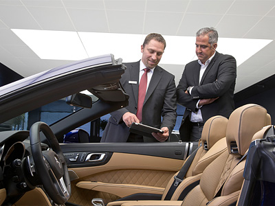 Презентация нового Mercedes-Benz SL 65 AMG