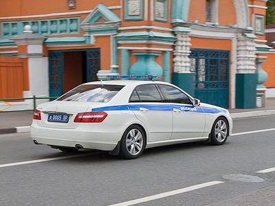 Полицейский Mercedes-Benz E-класса