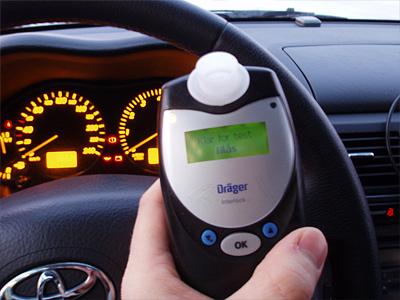 Алкозамок на автомобиле, зарегистрированном в Норвегии