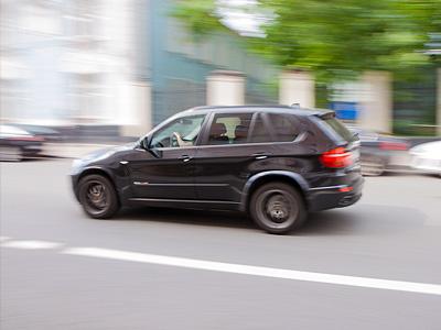 Превышение скорости в Москве