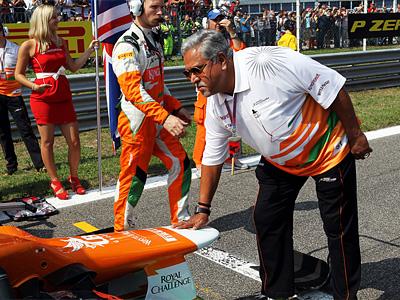 Владелец и руководитель Force India Виджай Маллья