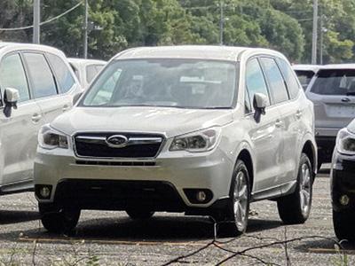 Следующее поколение Subaru Forester