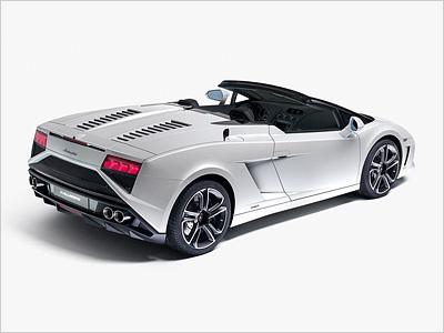 Обновленный Lamborghini Gallardo Spyder