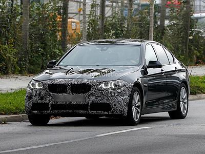 Обновленная BMW 5 серии