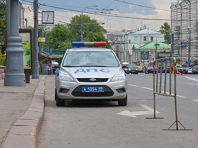 Экипаж ДПС в Москве