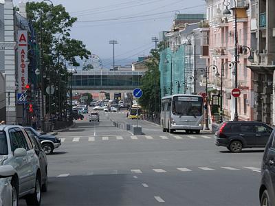 Левостороннее движение во Владивостоке