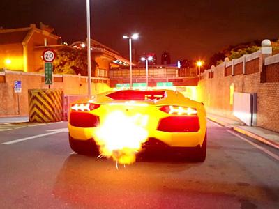 Lamborghini aventador кадр из видеоролика youtu be